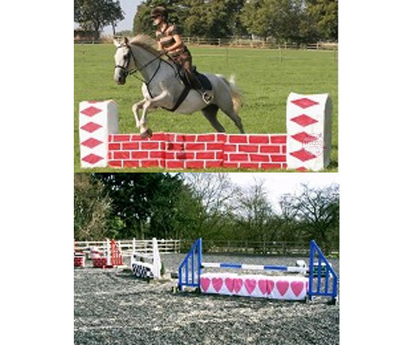 Jumpstack Bale Covers - For Inexpensive Show Jumps